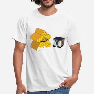 Board Game CMeepleO and R2DCube - Men's T-Shirt