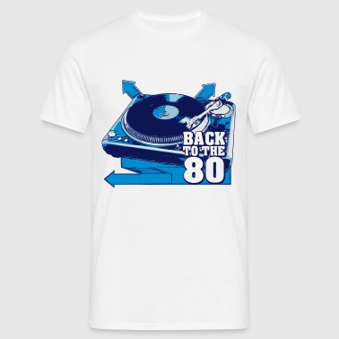platine back to the 80 - T-shirt Homme