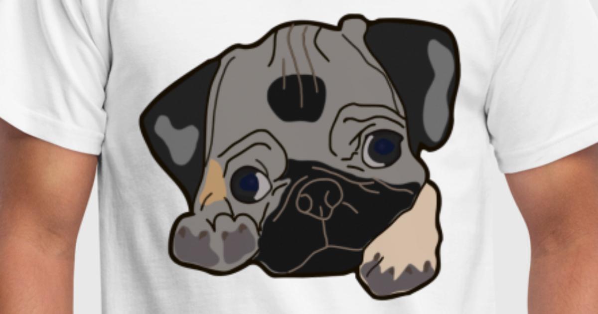 süßer Hund / Welpe cute Pug Geschenk Weihnachten von double critical ...