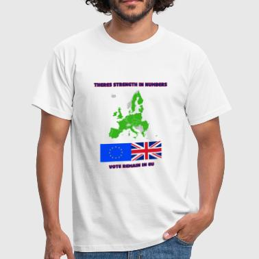 Referendum On Europe Remain in EU - Men's T-Shirt