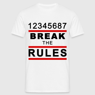 Break the Rules 2 - Männer T-Shirt