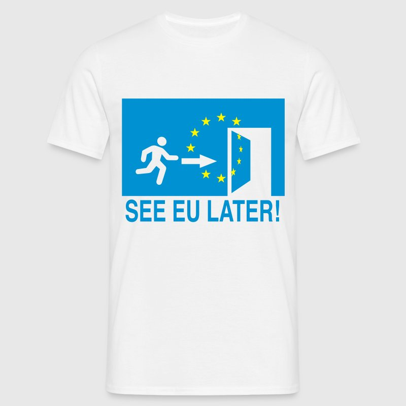 Brexit Exit - Men's T-Shirt