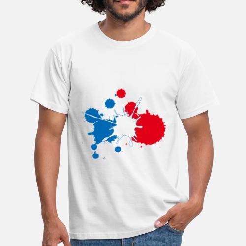 france bleu blanc rouge design peinture bbr de la france sur ta peau spreadshirt. Black Bedroom Furniture Sets. Home Design Ideas