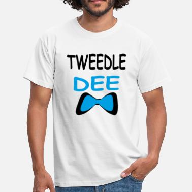 Wonderland Tweede Dee-Tweedle dum - Men's T-Shirt