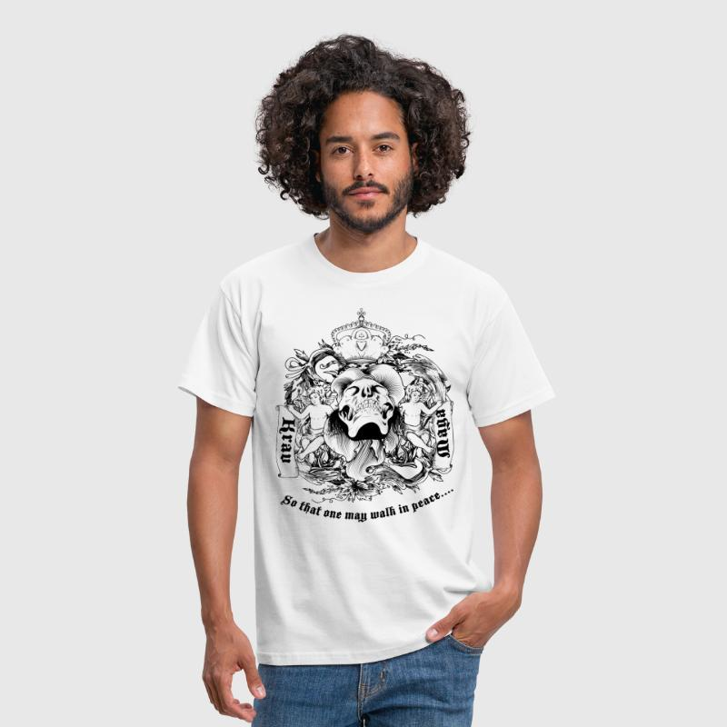 Krav Maga Skull - Men's T-Shirt