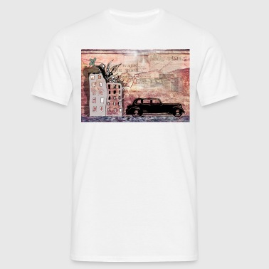 graffiti wall - Men's T-Shirt
