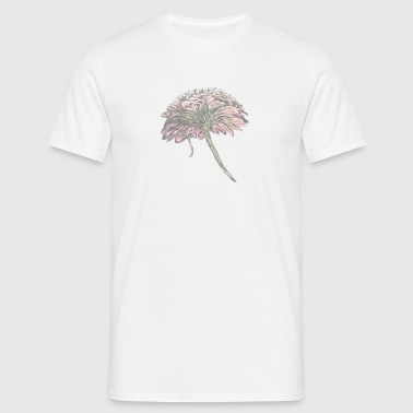 painting of a flower - Men's T-Shirt