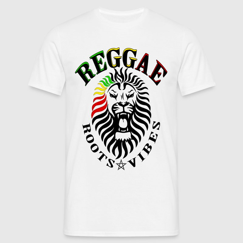 reggae roots vibes - T-shirt Homme
