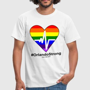 One Pulse Orlando June 12 2016, orlando Strong - Men's T-Shirt