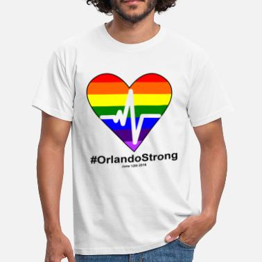 Johnny One Pulse Orlando June 12 2016, orlando Strong - Men's T-Shirt