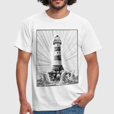 Lighthouse - Men's T-Shirt
