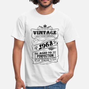 Perfection Vintage Aged To Perfection 1968 - Men's T-Shirt