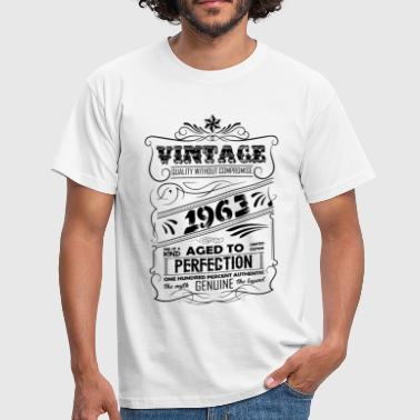 Vintage 1963 Aged To Perfection Vintage Aged To Perfection 1963 - Men's T-Shirt