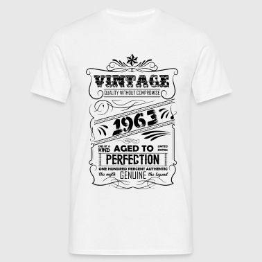 Vintage Aged To Perfection 1963 - Men's T-Shirt