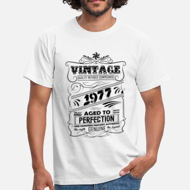 Premium Vintage 1977 Aged To Perfection Vintage Aged To Perfection 1977 - Men's T-Shirt