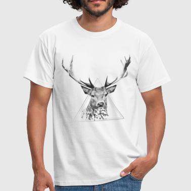 Animal Sauvage cerf - T-shirt Homme