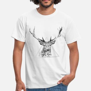 Chasse cerf - T-shirt Homme