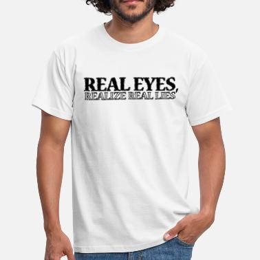 2pac Real Eyes Realize Real... - Männer T-Shirt