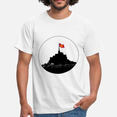 Normandie Mont Saint Michel - T-shirt Homme