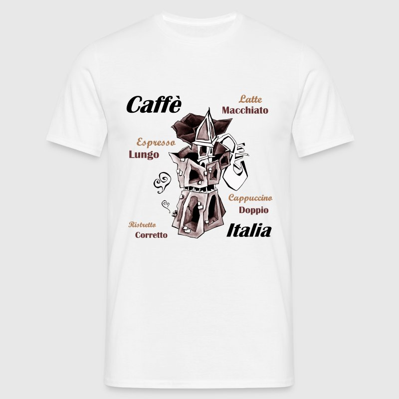 Italian Coffee Pot - Men's T-Shirt