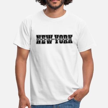 Geeklyshirts NEW YORK - Men's T-Shirt
