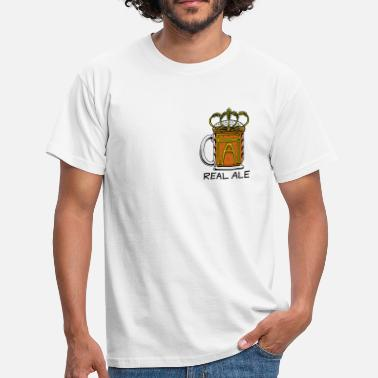 Real Ale - Men's T-Shirt