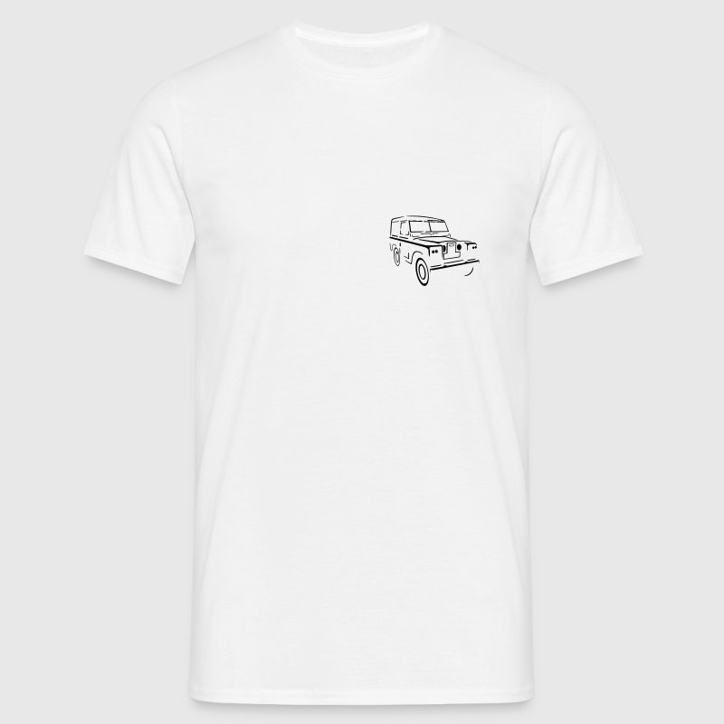 Land Rover Series 88 Land Landie Landy - Men's T-Shirt