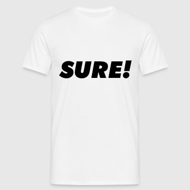 Sure - T-shirt herr