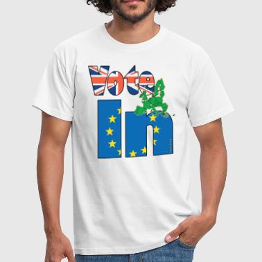 Referendum On Europe Stronger In EU Referendum - Men's T-Shirt