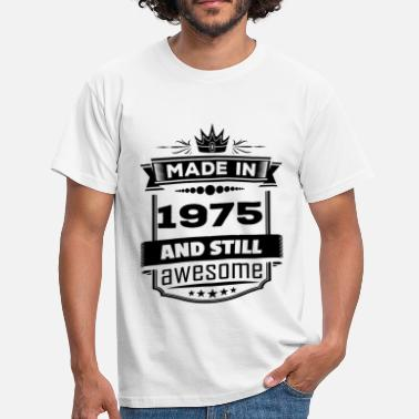 1975 Awesome Made In 1975 And Still Awesome - Men's T-Shirt