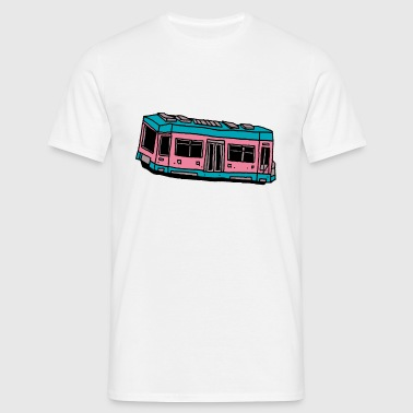 Pink Train - Männer T-Shirt