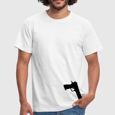 Counter Pocket Black Deagle! - Men's T-Shirt