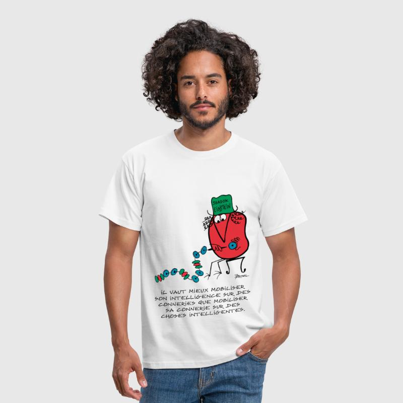 Shadok Einstein - T-shirt Homme