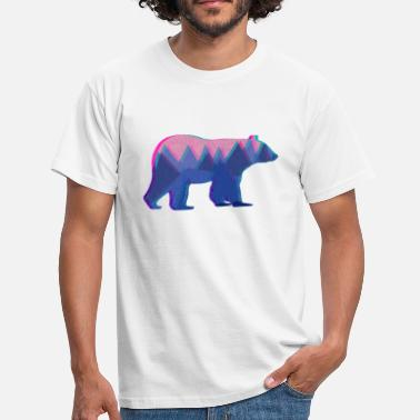 Mountain Bear 3D Mountain Bear - Men's T-Shirt