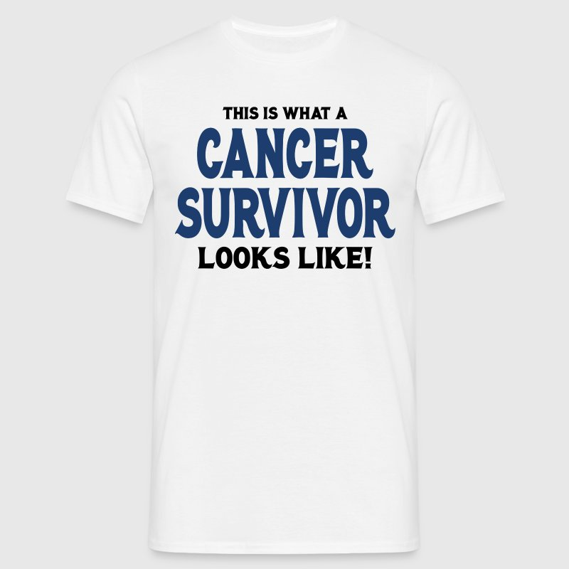 This Is What A Cancer Survivor Looks Like - Men's T-Shirt
