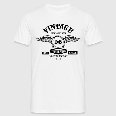 Vintage Perfectly Aged 1948 - Men's T-Shirt
