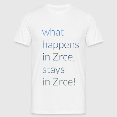 What happens in Zrce, stays in Zrce - Männer T-Shirt