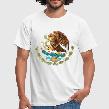 mexico_coat_of_arms - Herre-T-shirt