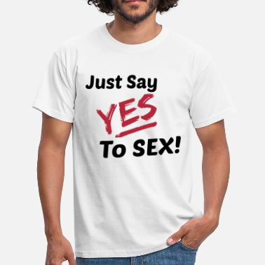 Austin Powers Yes To Sex! - Men's T-Shirt