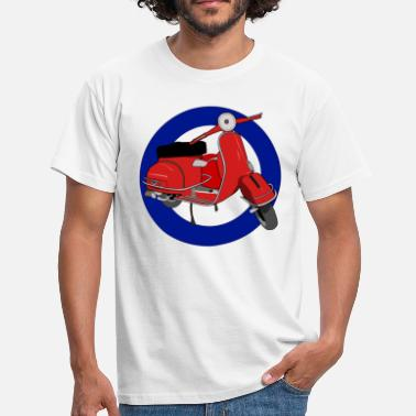Scooter Rally Mod Scooter - Men's T-Shirt