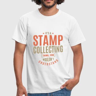 Stamp Stamp Collecting T-shirt - Men's T-Shirt