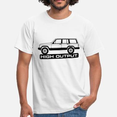 Discontinued Jeep XJ High Output - Autonaut.com - Men's T-Shirt