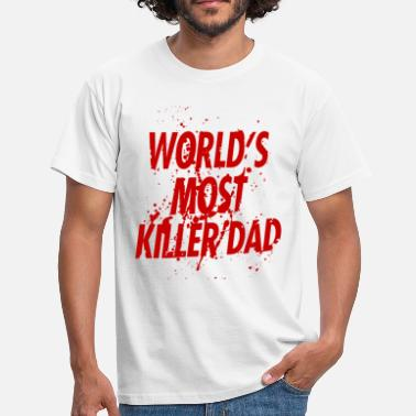 Harrison World's most killer dad - T-shirt Homme