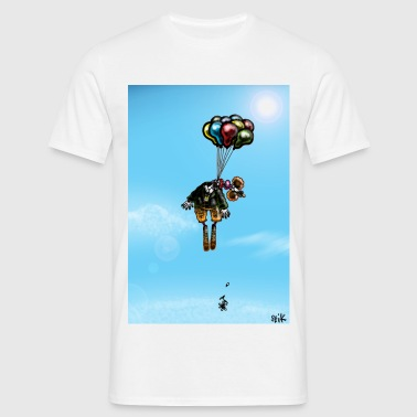 Suicidal Clown - Men's T-Shirt