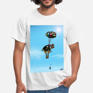 Suicide Joke Suicidal Clown - Men's T-Shirt