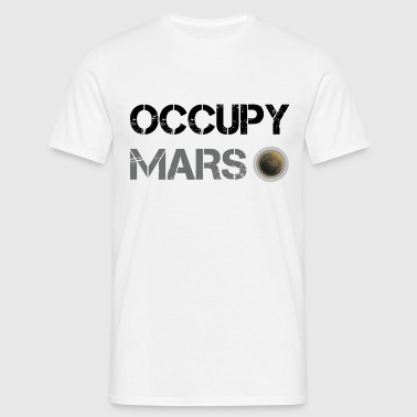 Occupy Mars Shirt - Men's T-Shirt