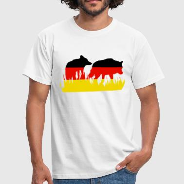Deutsch Wolf - Men's T-Shirt