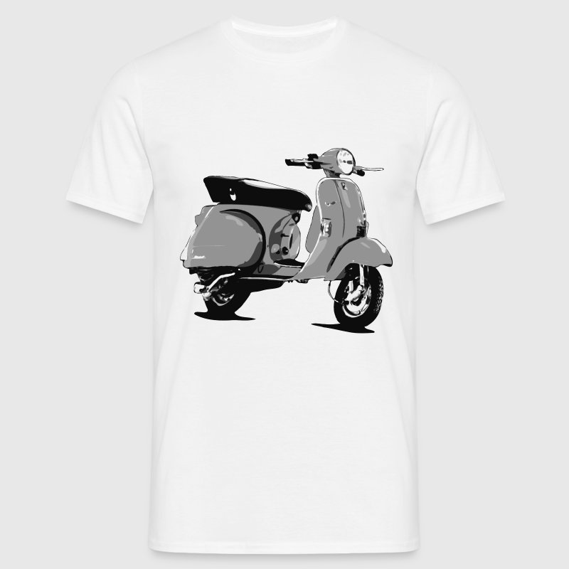 Scooter Comic Style  - Men's T-Shirt