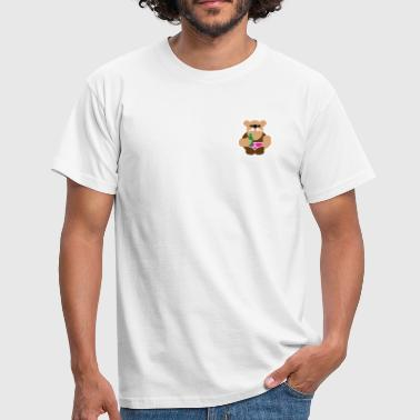 beer bear - Men's T-Shirt