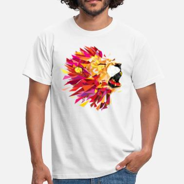 Animal Collection roaring Lion - Herre-T-shirt